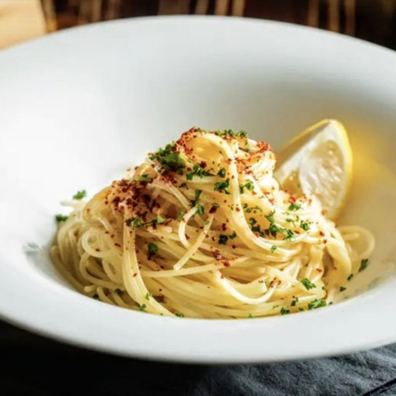 奶油鯷魚義大利麵 Anchovy Pasta with Garlic【升級套餐請下拉規格選擇】