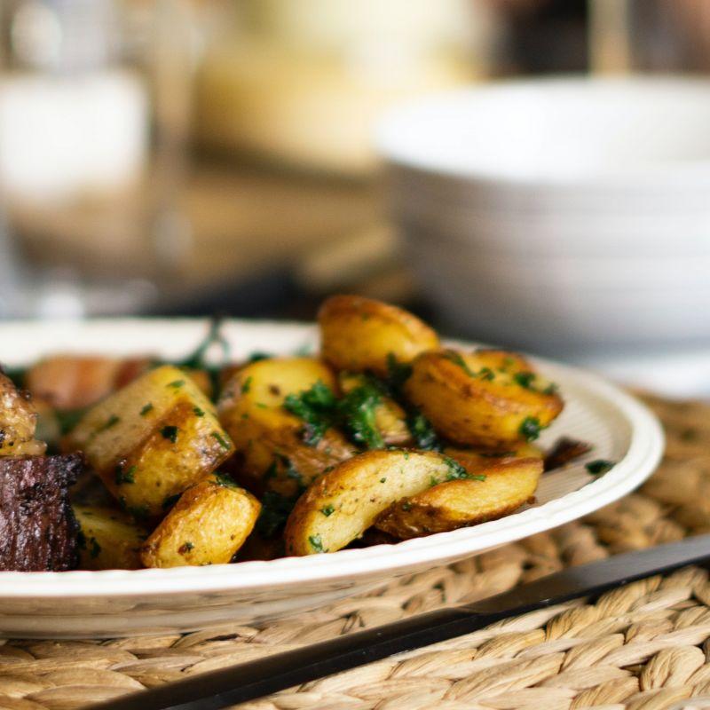 鴨油烤珍珠馬鈴薯 Duck Fat-Roasted Potatoes