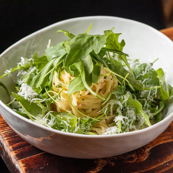 芝麻葉藍起司麵(素)Argula blue cheese pasta【升級套餐請下拉規格選擇】