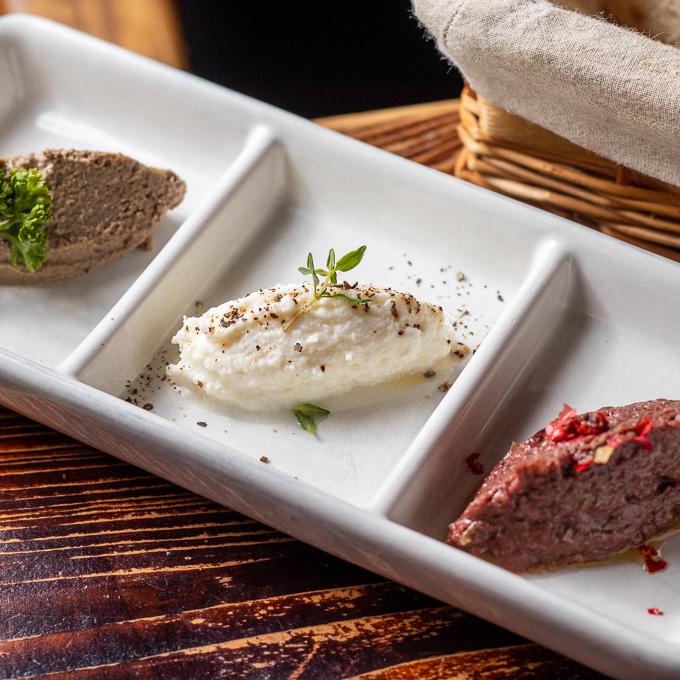 三種特製傳統抹醬 / Homemade Spreads in 3 flavours