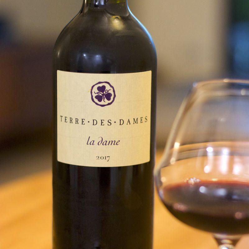 法國 朗格多克 AOC COTEAUX LANGUEDOC, LA DAME, 2017 紅酒