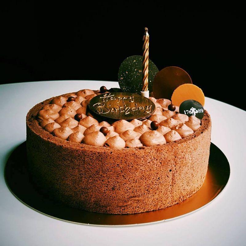 【BeApe X 1789 café】 聯名限定款 - 巧克力焦糖脆 6吋蛋糕(需提前2日預訂)