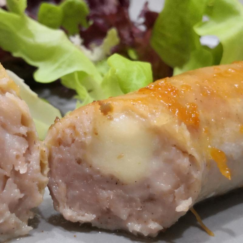 (買1送1)CHEZ BIX法國起司手工肉腸 / cheese Sausage