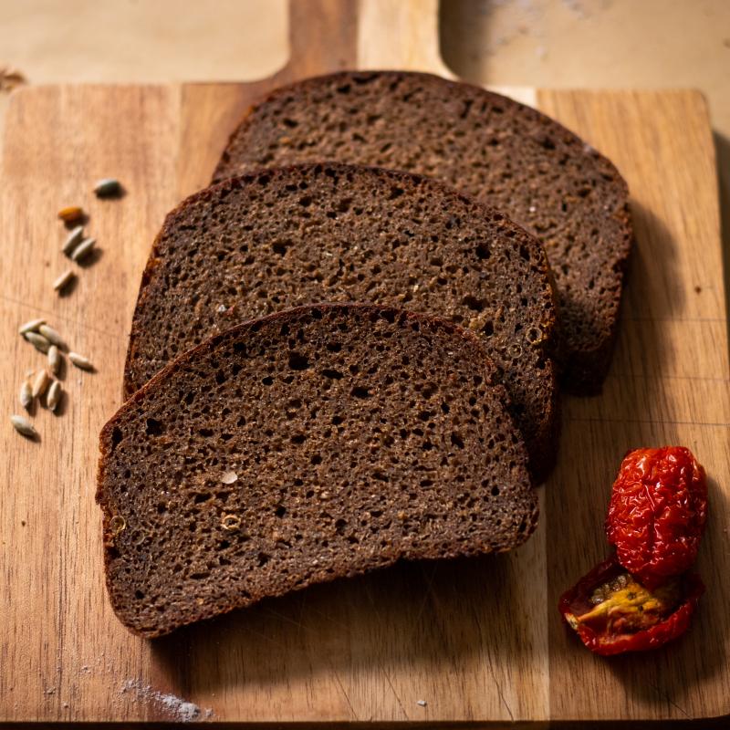 俄羅斯傳統裸麥酸麵包(大)&油漬番茄乾 /Borodinsky+Dried Tomatoes