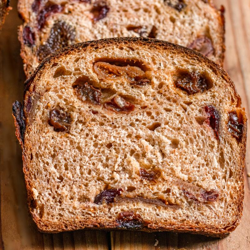 酒漬果乾核桃酸麵包/The Fruit Loaf
