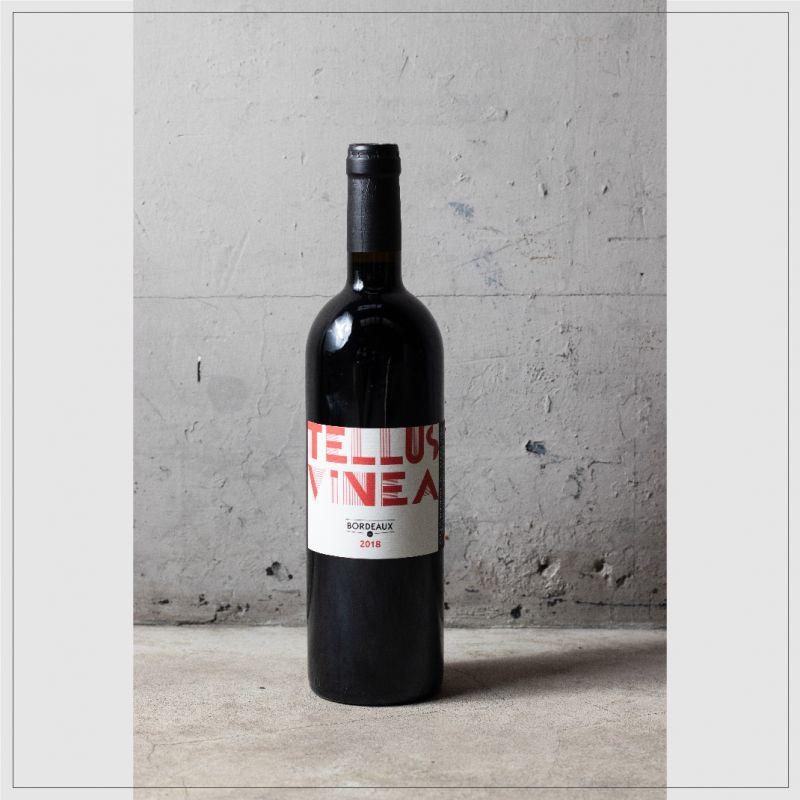 法國 波爾多 Tellus Vinea Bordeaux 2018 紅酒