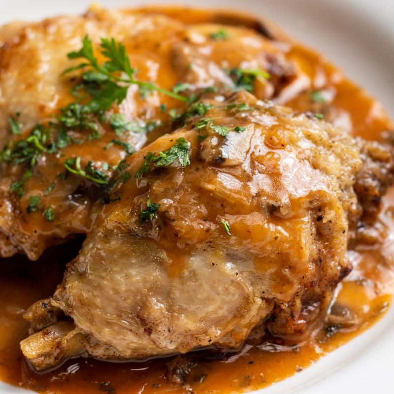 宅配限定!鄉村獵人雞腿 / Chicken Chasseur