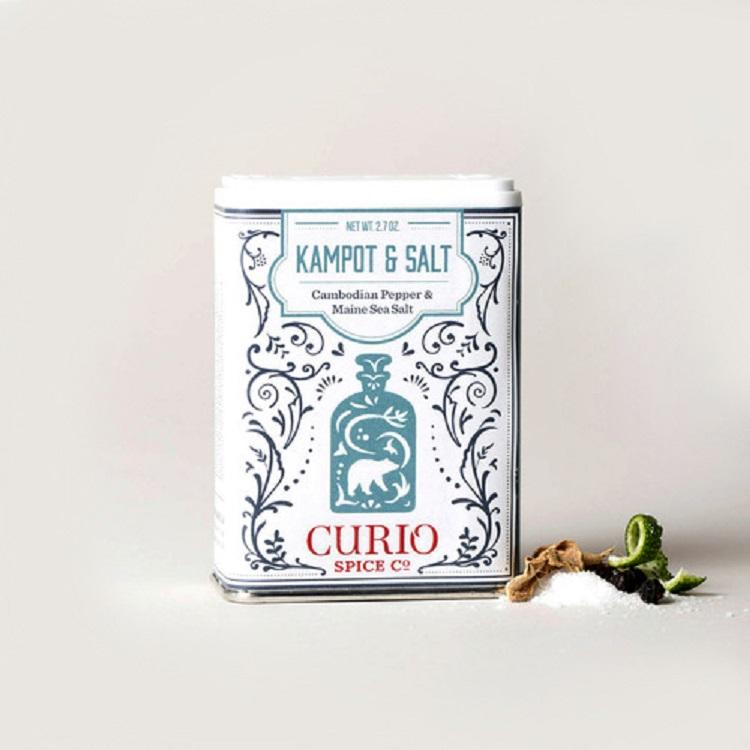 Curio Spice Co. 貢布胡椒辛味鹽