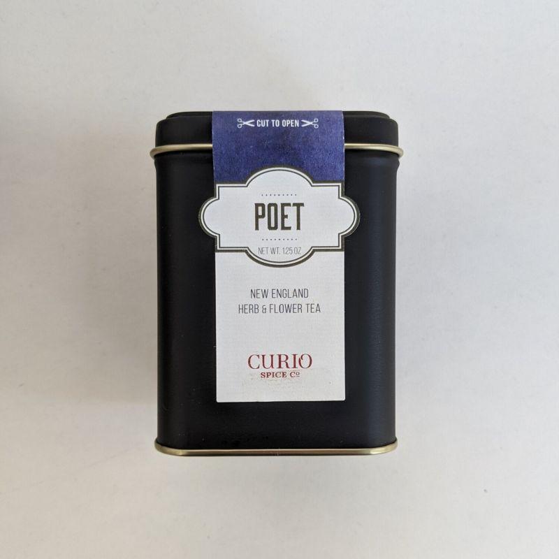 Curio Spice Co. 聖羅勒詩人玫瑰茶