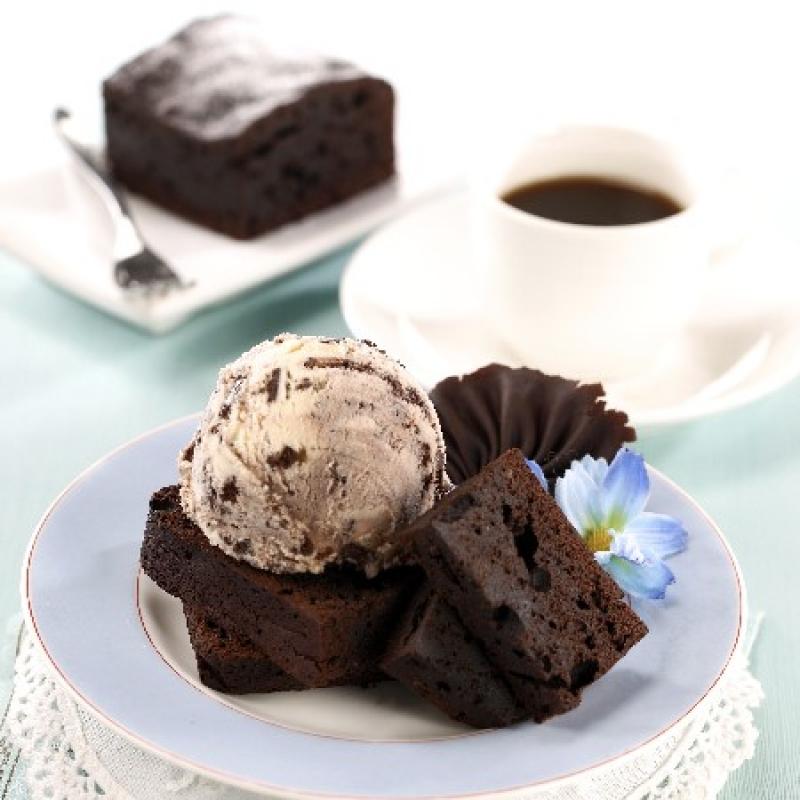 香草布朗尼 / Brownie