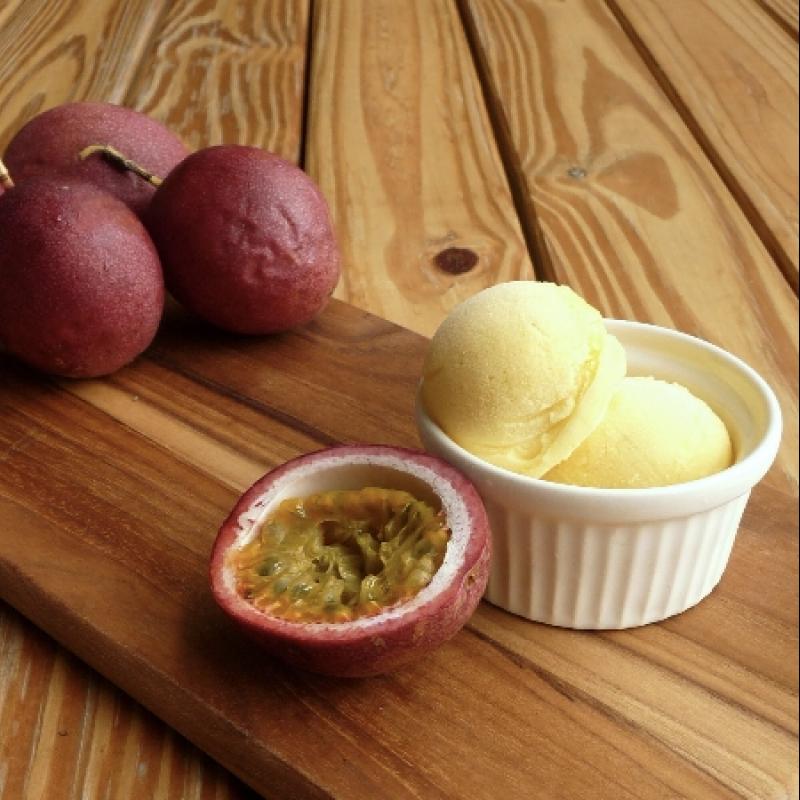 百香果雪酪 / Sorbet aux fruits de la passion