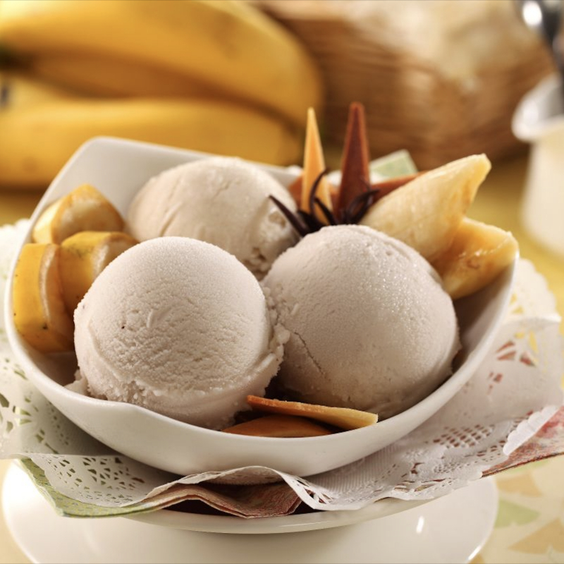 香蕉牛奶雪酪 / Sherbet à la Banane