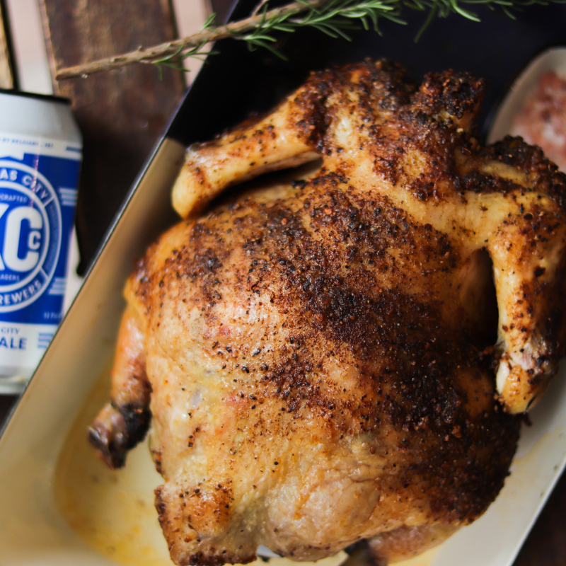 慢烤啤酒雞 / Beer Chicken