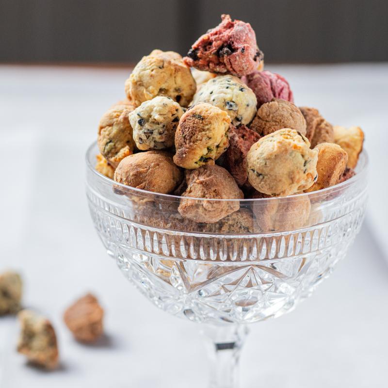 迷你司康 + 芝麻夾心餅乾組 / mini scone & sesame biscuits
