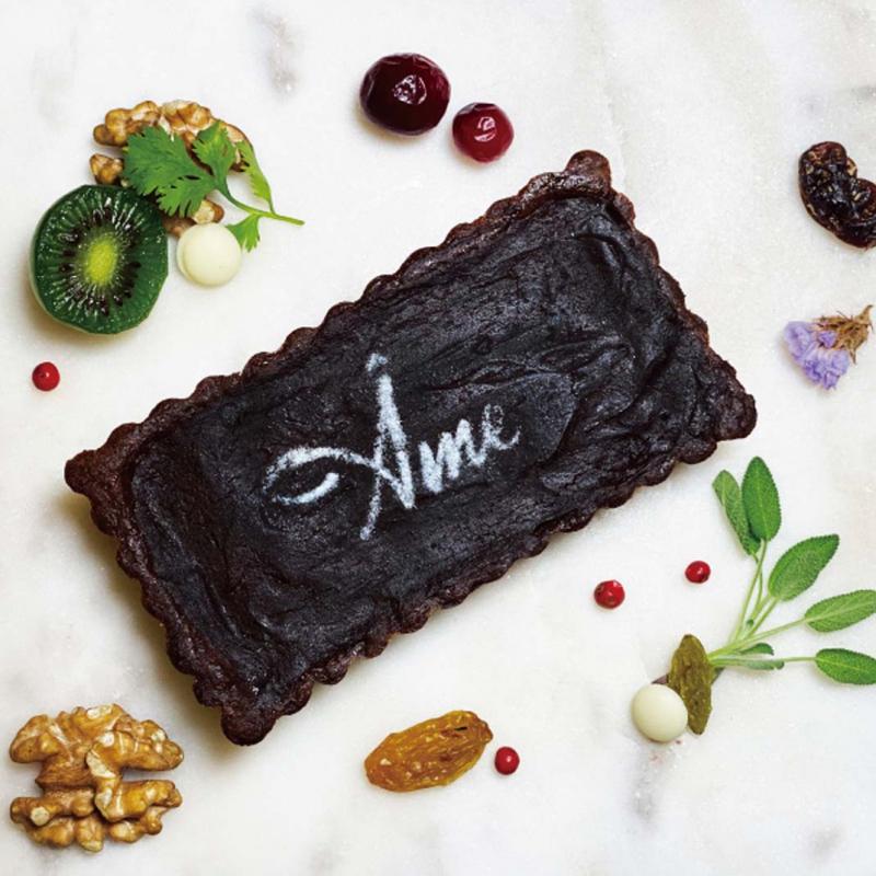 大人的黑巧克力塔 / Tartes au chocolat noir pour les grands Dark chocolate tarts for the growns