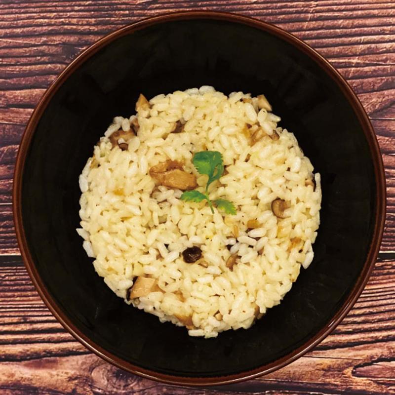 奶奶野菇燉飯 / Risotto aux champignons shiitake de grand-mère Granny's Shiitake Mushroom Risotto