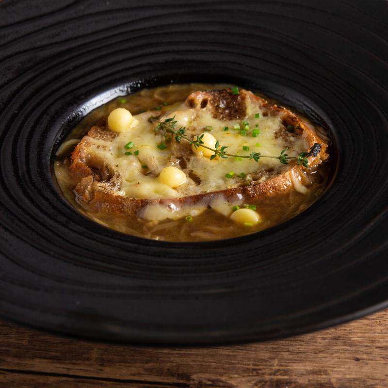 法式焗烤洋蔥湯 / French onion soup