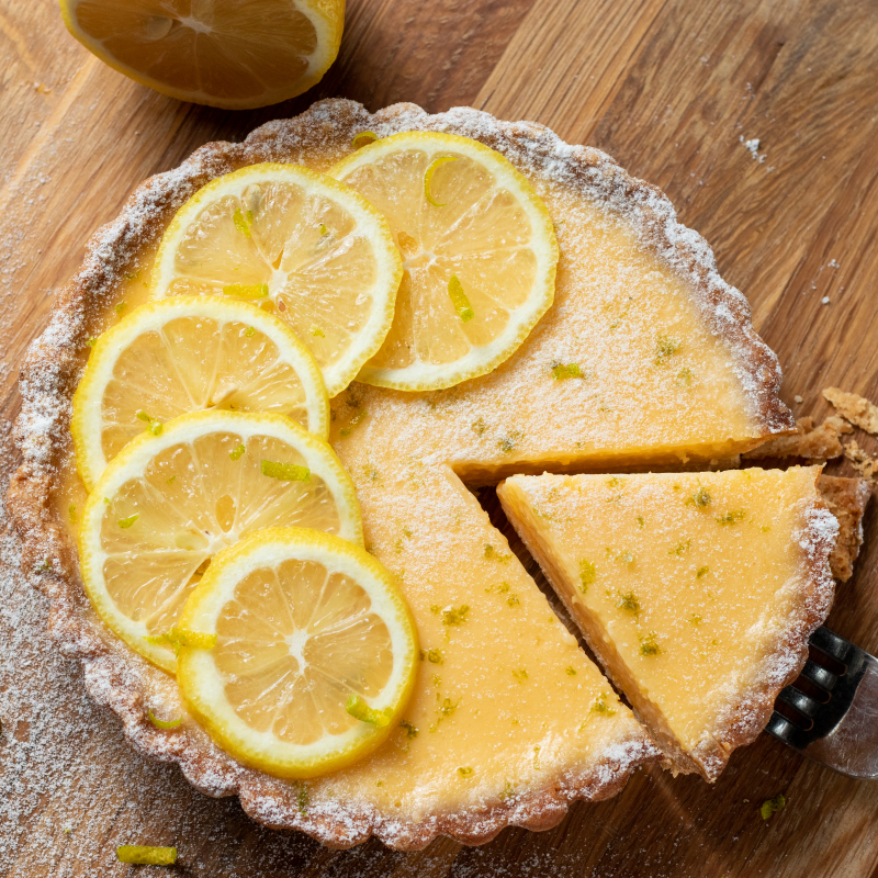 法式檸檬塔 / Tarte Au Citron
