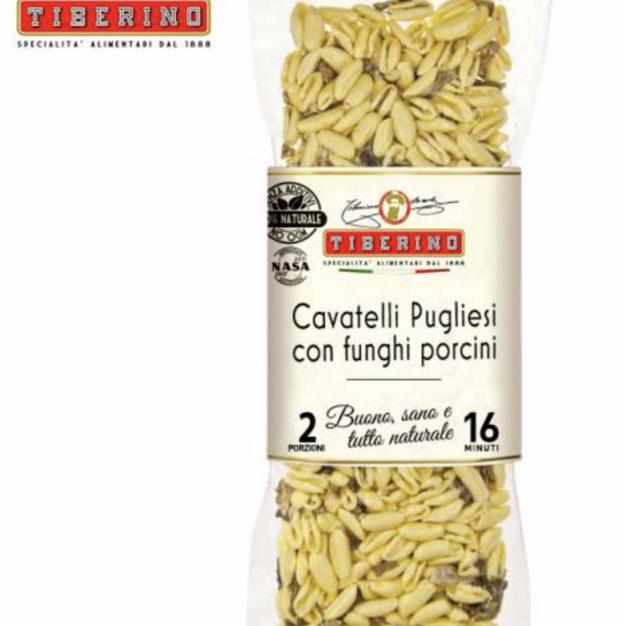 牛肝菌貓耳朵形義大利麵 / Cavatelli Pasta & Procini mushrooms