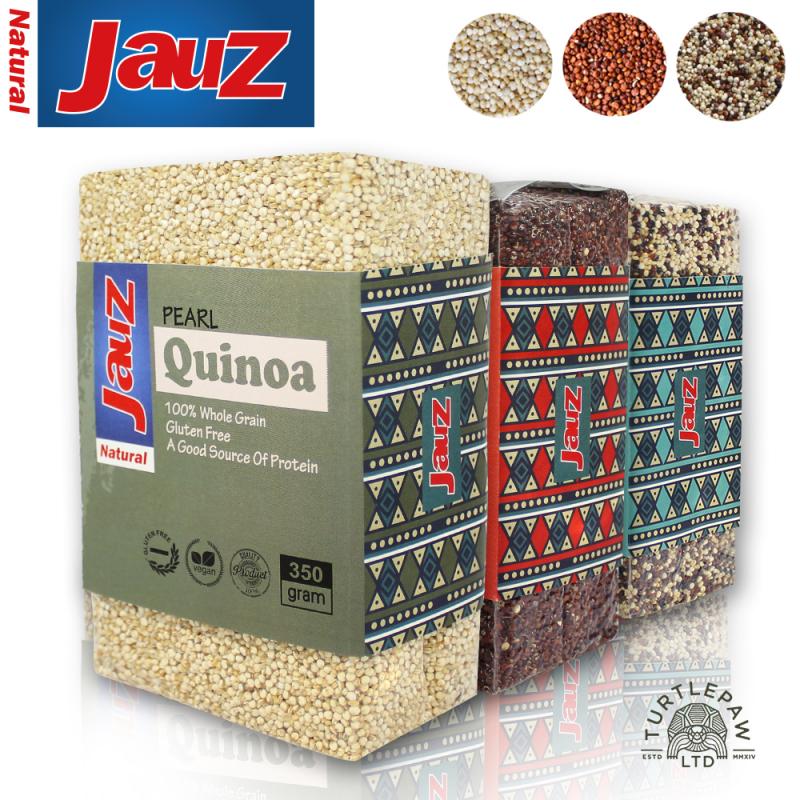 【JAUZ喬斯】紅藜麥+白藜麥+三色藜麥QUINOA *3包