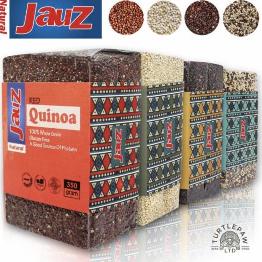【JAUZ喬斯】紅藜麥+白藜麥+黑藜麥+三色藜麥QUINOA *4包