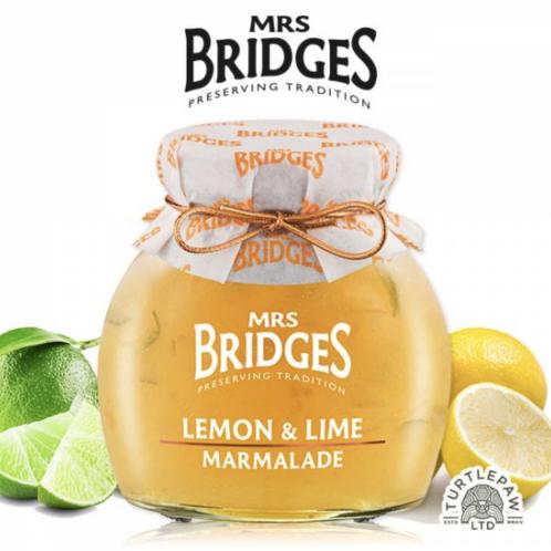 【MRS. BRIDGES】英橋夫人檸檬萊姆果醬 (大)340g