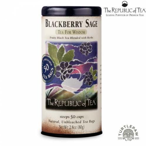 【茶本共和國】黑莓鼠尾草風味紅茶 (50包)