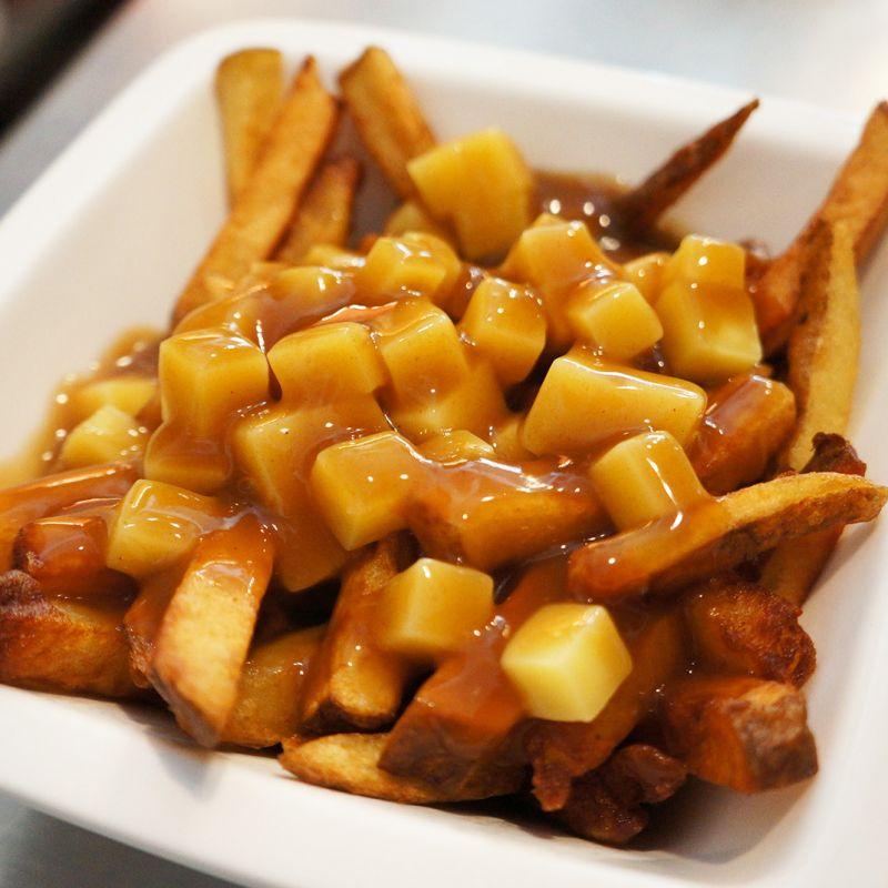 加拿大 普丁薯條 乳酪&醬包