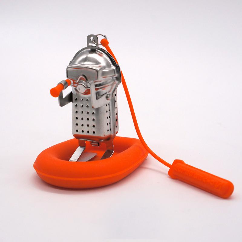 深海探險家 濾茶器 + 救生艇水座