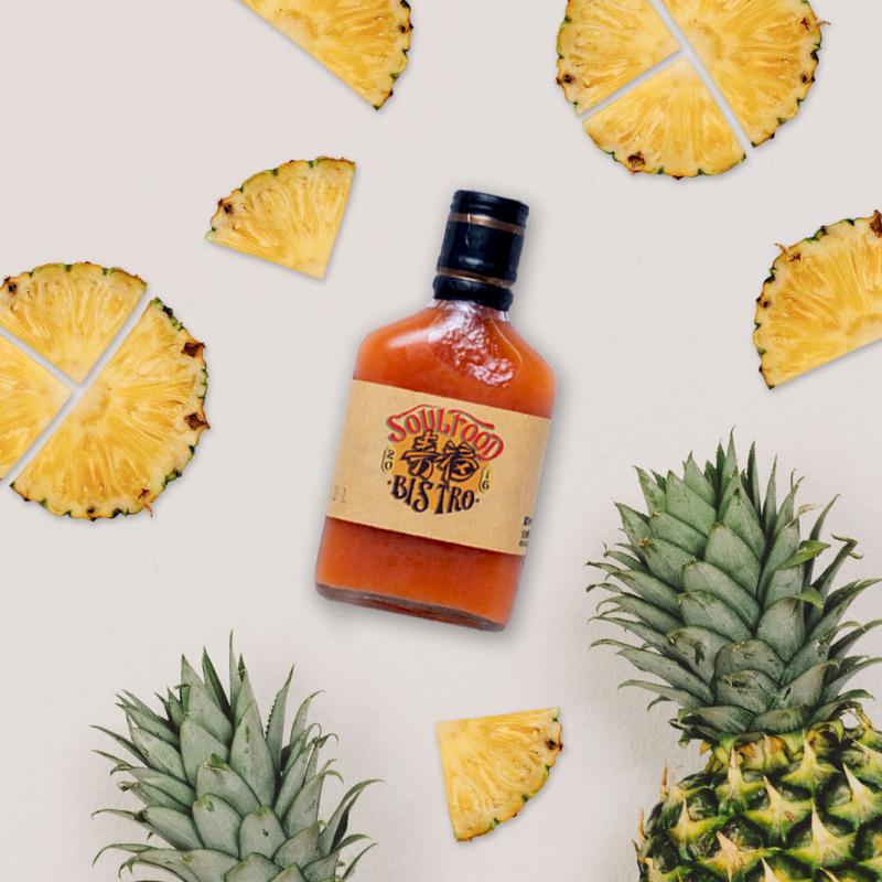 手工鳳梨辣椒醬 / pineapple hot sauce