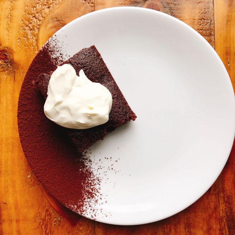 美式傳統巧克力鹽之花布朗尼