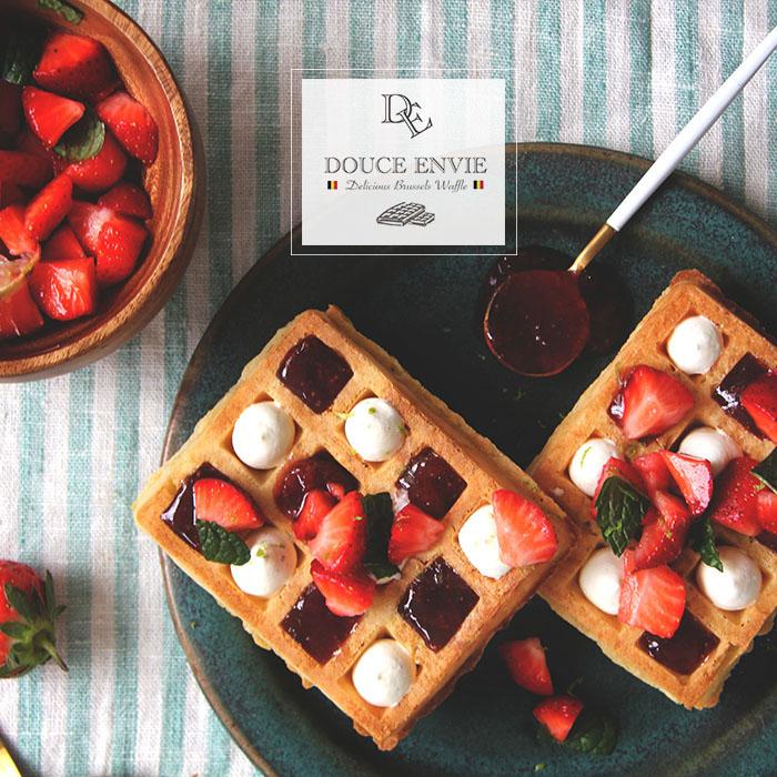 Douce Envie 杜斯翁維 比利時布魯塞爾冷凍鬆餅 - 迷你小片 / 24入