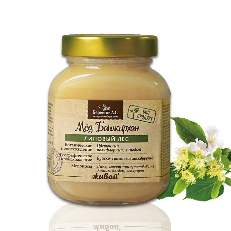 天然能量椴樹生蜂蜜(500g)