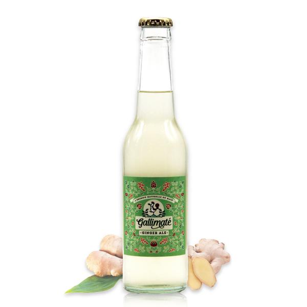 公雞瑪黛氣泡飲(薑汁風味)