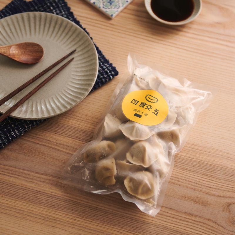 四食五 冷凍水餃 塔香小卷口味