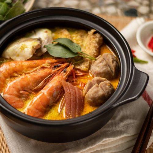 南洋海鮮叻沙湯