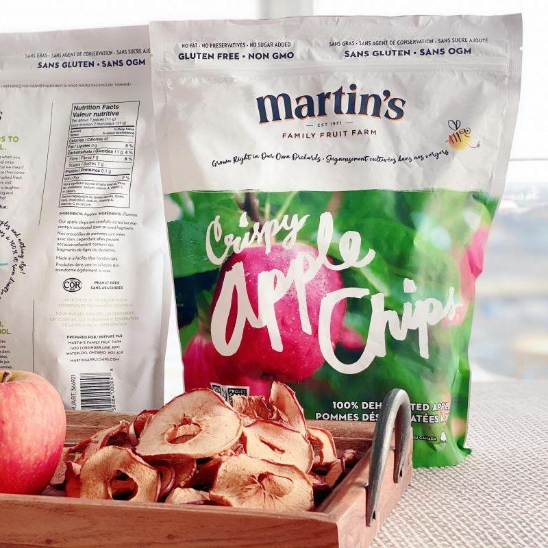 100% 全天然蘋果脆片